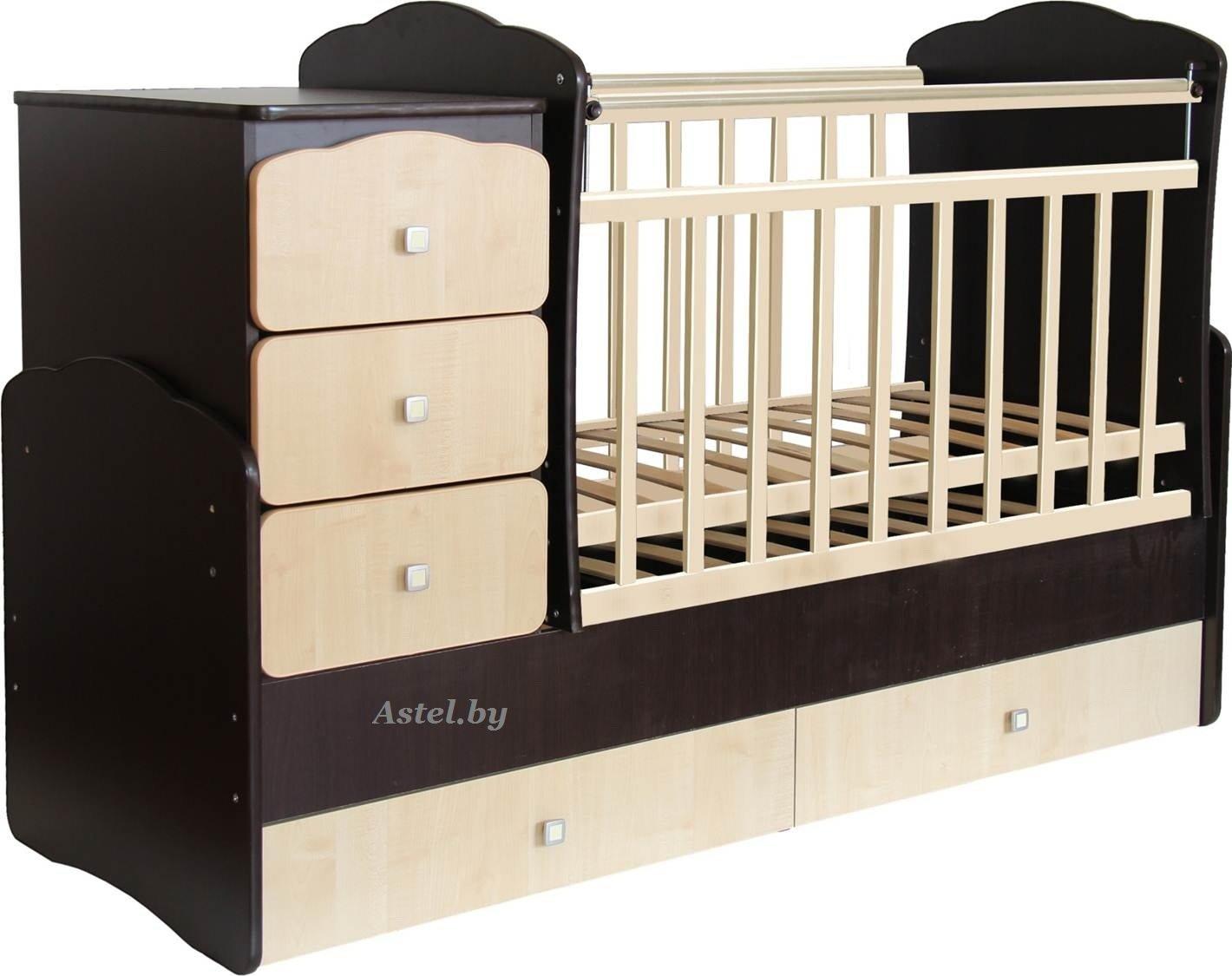 инструкция по сбору кроватки с-625