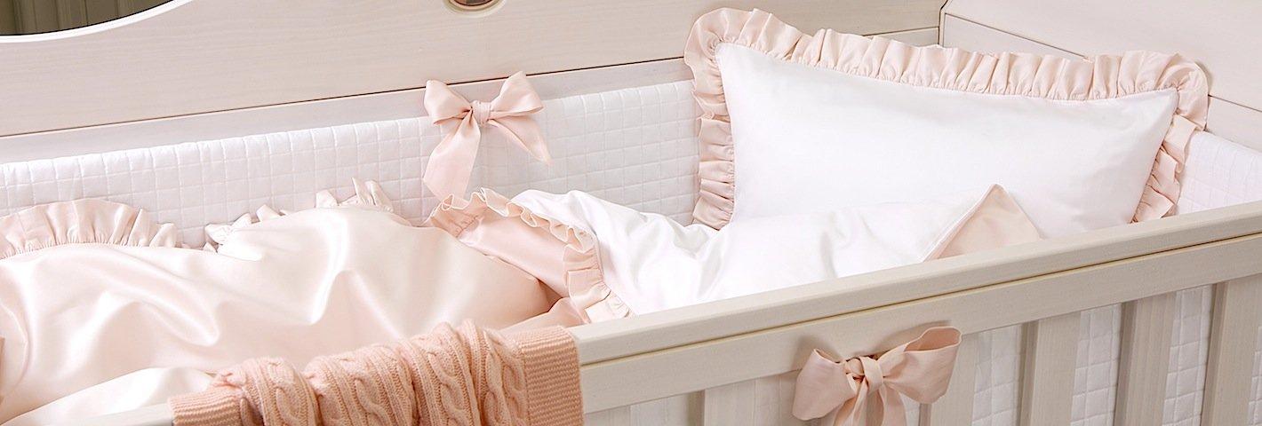 69c7ed70d868 На что просто необходимо обратить внимание заботливым родителям при выборе детского  комплекта в кроватку для новорожденного?