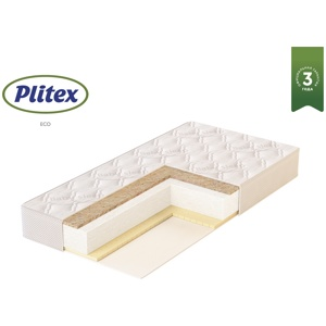 Детский матрас Plitex EcoFlex Cotton 119x60x12 (Эко Флекс)