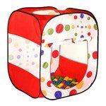 Игровой домик с шариками CALIDA Квадрат (80х80х98) + 100 шаров, арт.622