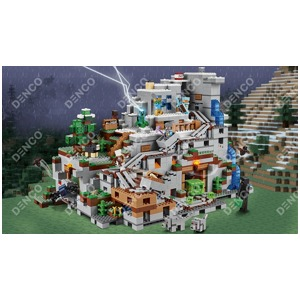 Конструктор Bela Minecraft My world 10735 Горная Пещера (2886 дет.) (Аналог LEGO 21137)