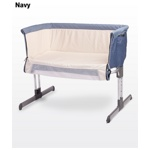 Кроватка Caretero Sleep2gether 2gether navy (Каретеро Слип Тугезе) синий