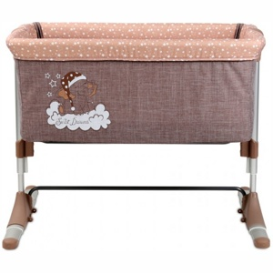 Кроватка Lorelli Sleep N Care Beige Elephant, бежевый
