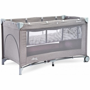 Манеж Caretero basic plus grey