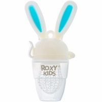 Ниблер для прикорма Roxy-Kids Bunny Twist RFN-005 (голубой)