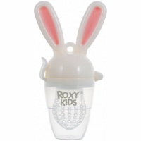 Ниблер для прикорма Roxy-Kids Bunny Twist RFN-006 (Розовый)