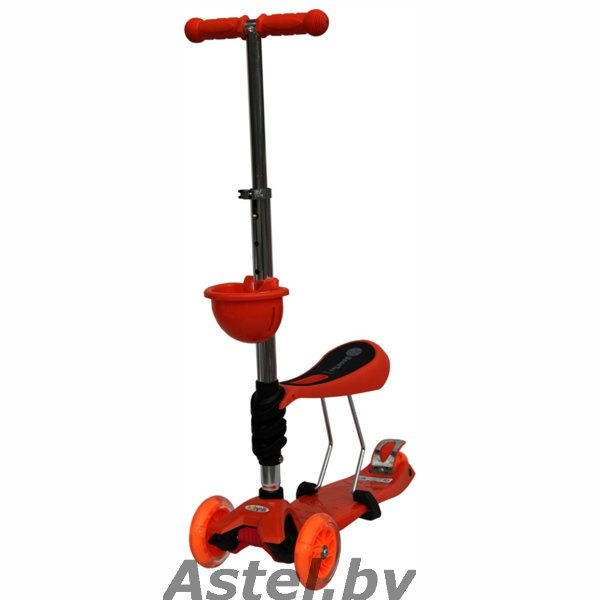 Самокат Babyhit ScooterOk Tolocar ORANGE оранжевый