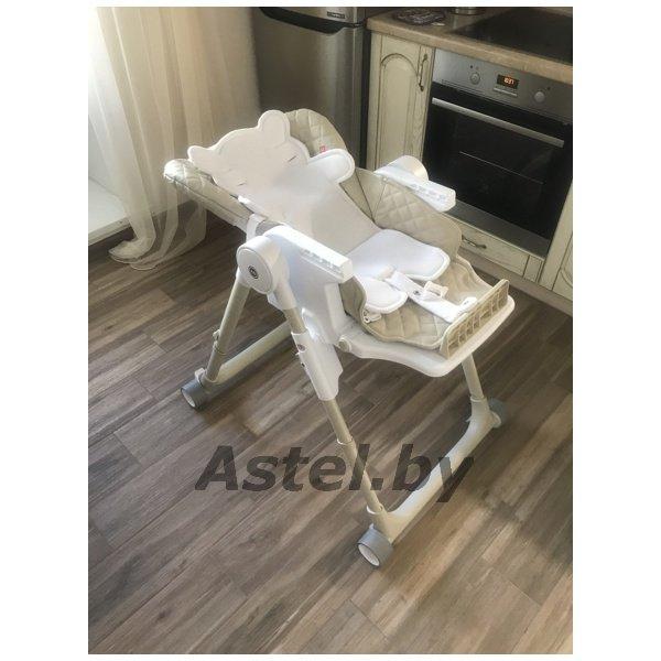 стульчик для кормления Happy Baby William V2 Beige бежевый
