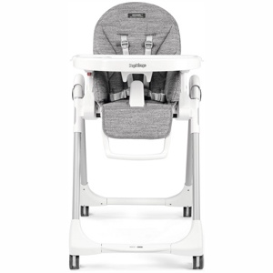 Стульчик для кормления Peg-Perego Prima Pappa Zero3 Follow Me WONDER GREY Серый (нанотехнологическая ткань)