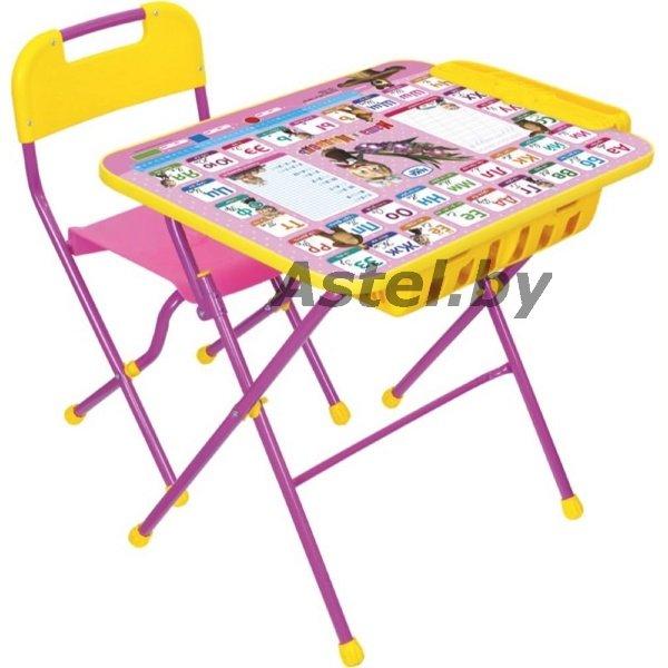 набор детской мебели ника кпу2п3 с большим пеналом азбука 3 маша