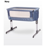 Кроватка Caretero Sleep2gether navy (Каретеро Слип Тугезе) синий